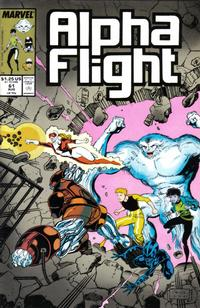 Cover Thumbnail for Alpha Flight (Marvel, 1983 series) #61
