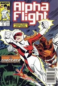 Cover Thumbnail for Alpha Flight (Marvel, 1983 series) #71