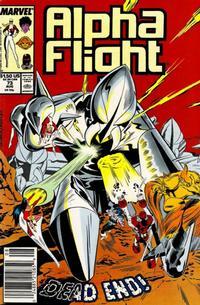 Cover Thumbnail for Alpha Flight (Marvel, 1983 series) #73