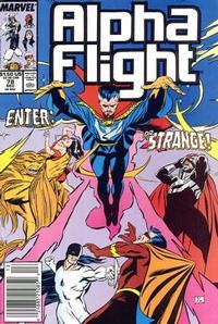 Cover Thumbnail for Alpha Flight (Marvel, 1983 series) #78