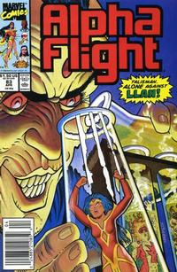 Cover Thumbnail for Alpha Flight (Marvel, 1983 series) #83