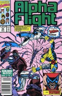 Cover for Alpha Flight (Marvel, 1983 series) #88