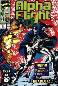 Cover Thumbnail for Alpha Flight (Marvel, 1983 series) #93