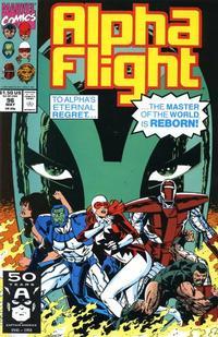 Cover Thumbnail for Alpha Flight (Marvel, 1983 series) #96
