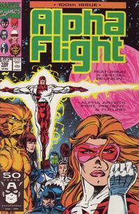 Cover Thumbnail for Alpha Flight (Marvel, 1983 series) #100
