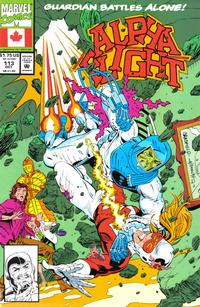 Cover for Alpha Flight (Marvel, 1983 series) #113 [Direct Edition]