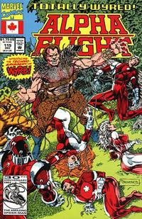 Cover Thumbnail for Alpha Flight (Marvel, 1983 series) #115 [Direct Edition]