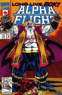 Cover Thumbnail for Alpha Flight (Marvel, 1983 series) #116 [Direct]