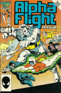 Cover Thumbnail for Alpha Flight Annual (Marvel, 1986 series) #1 [Direct]
