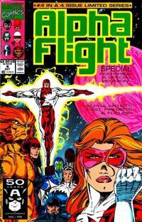 Cover for Alpha Flight (Marvel, 1983 series) #100
