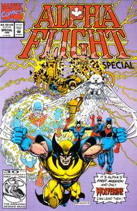 Cover Thumbnail for Alpha Flight Special (Marvel, 1992 series) #1 [Direct]