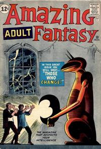 Cover for Amazing Adult Fantasy (Marvel, 1961 series) #10