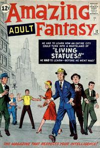 Cover Thumbnail for Amazing Adult Fantasy (Marvel, 1961 series) #12