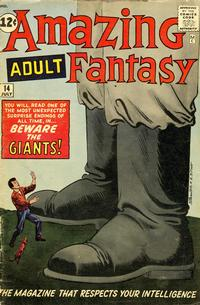 Cover Thumbnail for Amazing Adult Fantasy (Marvel, 1961 series) #14