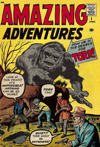 Cover Thumbnail for Amazing Adventures (Marvel, 1961 series) #1