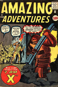 Cover Thumbnail for Amazing Adventures (Marvel, 1961 series) #4