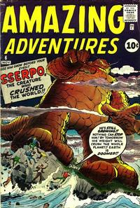 Cover Thumbnail for Amazing Adventures (Marvel, 1961 series) #6