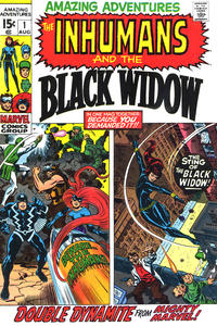 Cover Thumbnail for Amazing Adventures (Marvel, 1970 series) #1