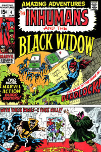 Cover Thumbnail for Amazing Adventures (Marvel, 1970 series) #4 [Regular Edition]