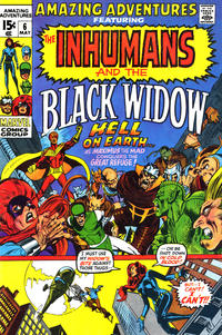 Cover Thumbnail for Amazing Adventures (Marvel, 1970 series) #6 [Regular Edition]