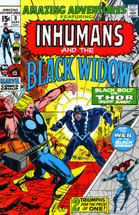 Cover Thumbnail for Amazing Adventures (Marvel, 1970 series) #8
