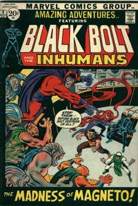 Cover Thumbnail for Amazing Adventures (Marvel, 1970 series) #9 [Regular Edition]