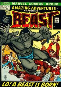 Cover Thumbnail for Amazing Adventures (Marvel, 1970 series) #11