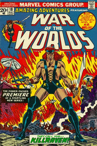 Cover Thumbnail for Amazing Adventures (Marvel, 1970 series) #18
