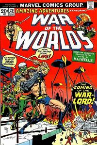 Cover Thumbnail for Amazing Adventures (Marvel, 1970 series) #20 [Regular Edition]