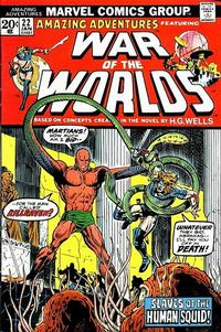 Cover Thumbnail for Amazing Adventures (Marvel, 1970 series) #22