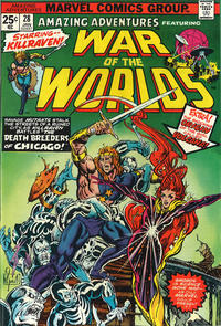 Cover Thumbnail for Amazing Adventures (Marvel, 1970 series) #28