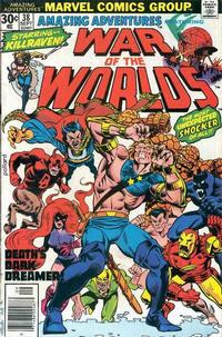 Cover Thumbnail for Amazing Adventures (Marvel, 1970 series) #38