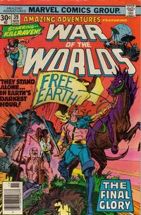 Cover Thumbnail for Amazing Adventures (Marvel, 1970 series) #39