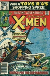 Cover Thumbnail for Amazing Adventures (Marvel, 1979 series) #11