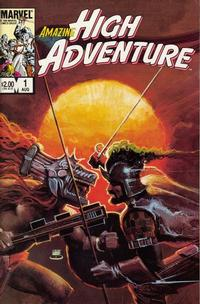 Cover for Amazing High Adventure (Marvel, 1984 series) #1