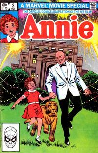 Cover Thumbnail for Annie (Marvel, 1982 series) #2 [Direct]