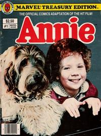 Cover Thumbnail for Annie Treasury Edition (Marvel, 1982 series) #1