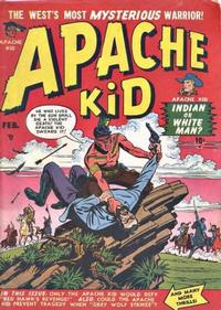 Cover Thumbnail for Apache Kid (Marvel, 1950 series) #2