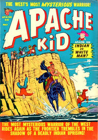 Cover Thumbnail for Apache Kid (Marvel, 1950 series) #5