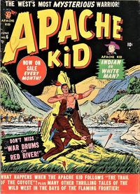 Cover Thumbnail for Apache Kid (Marvel, 1950 series) #6