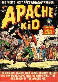 Cover Thumbnail for Apache Kid (Marvel, 1950 series) #8