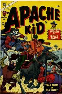 Cover Thumbnail for Apache Kid (Marvel, 1950 series) #12
