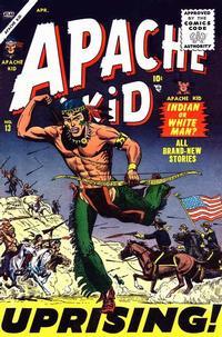 Cover Thumbnail for Apache Kid (Marvel, 1950 series) #13