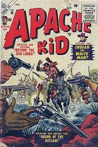 Cover Thumbnail for Apache Kid (Marvel, 1950 series) #16