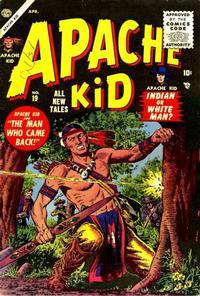 Cover Thumbnail for Apache Kid (Marvel, 1950 series) #19