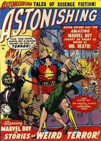 Cover Thumbnail for Astonishing (Marvel, 1951 series) #3