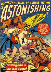 Cover for Astonishing (Marvel, 1951 series) #5