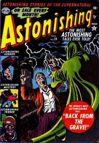 Cover Thumbnail for Astonishing (Marvel, 1951 series) #19