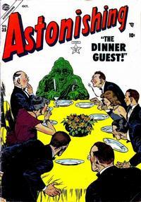 Cover Thumbnail for Astonishing (Marvel, 1951 series) #35
