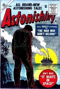 Cover Thumbnail for Astonishing (Marvel, 1951 series) #38